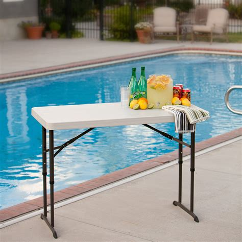 chaise pliante plastique lifetime table pliante wonderful table pliante et