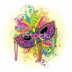 Mardi Gras Masks - Cliparts.co