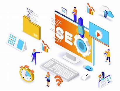 Seo Engine Optimization Training Banner Marketing Posicionamiento