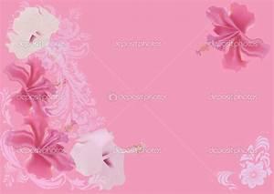 Image Gallery light pink flower background