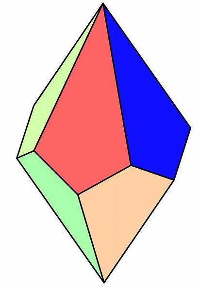 Pentagonal Trapezohedron Svg Wikipedia Sided Faces Dice