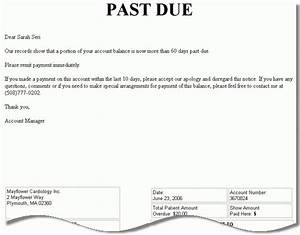 past due balance letter letters font With past due invoice collection letter