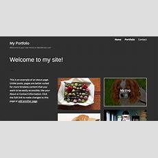 Portfolios — Support — Wordpresscom