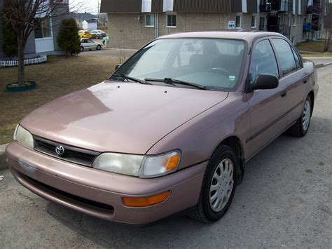 Toyota Corolla 1993 by 1993 Toyota Corolla Pictures Cargurus