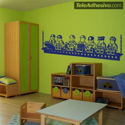Wandtattoo Kinderzimmer Lego by Wandtattoo Kinder Mittagessen Lego Arbeitern