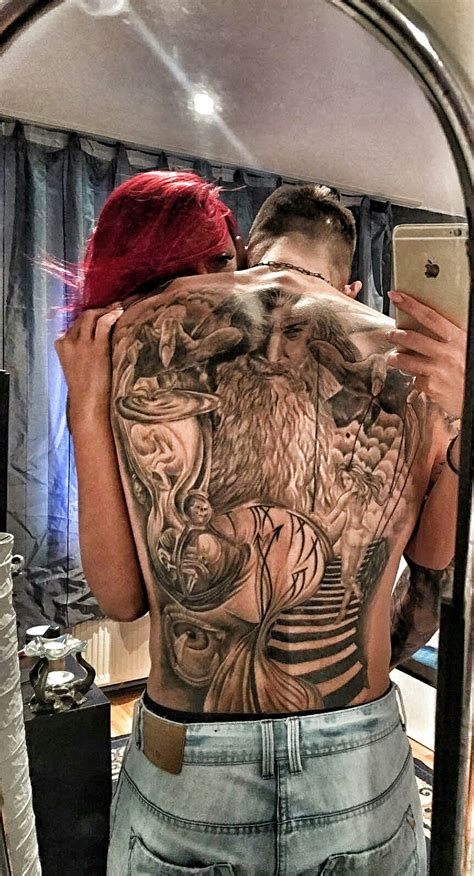 Pin by Amani on Gorgeous | Back piece tattoo, Warrior ...