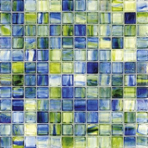 decorating ideas epic blue green mosaic glass tile