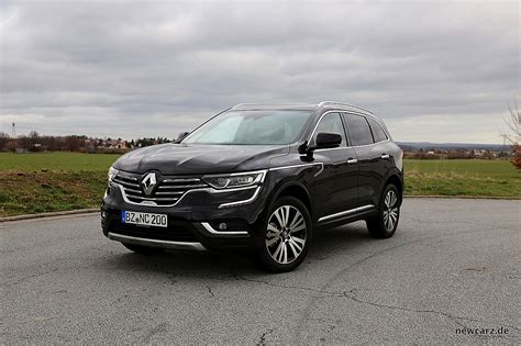 The renault koleos is a compact crossover suv which was first presented as a concept car at the geneva motor show in 2000, and then again in 2006 at the paris motor show, by the french manufacturer renault. Renault Koleos Dauertest - akustische Eindrücke - NewCarz.de