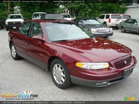 Buick Regal Gse by 2000 Buick Regal Gse Bordeaux Medium Gray Photo 4