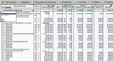 Home Design Software Cost Estimate by Cost Breakdown Template Excel Archives Constructupdate