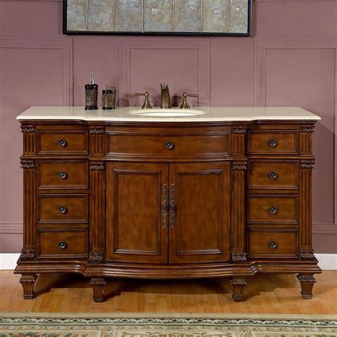 sink vanity top only shop silkroad exclusive esther 60 in walnut undermount