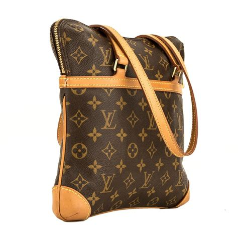 louis vuitton coussin monogram gm  brown shoulder bag tradesy