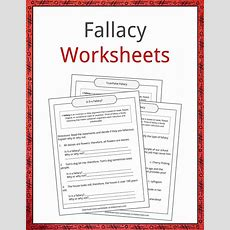 Fallacy Examples, Definition And Worksheets Kidskonnect