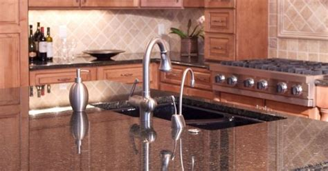 black kitchen cabinets pictures kitchen cabinets and countertops beige granite 4696