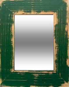 Spiegel Zum Aufstellen : spiegel mit holzrahmen gr n 7cm 4mm glas ~ Whattoseeinmadrid.com Haus und Dekorationen