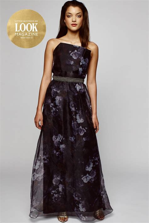 Maxi Black And Grey outlet by look magazine black and grey