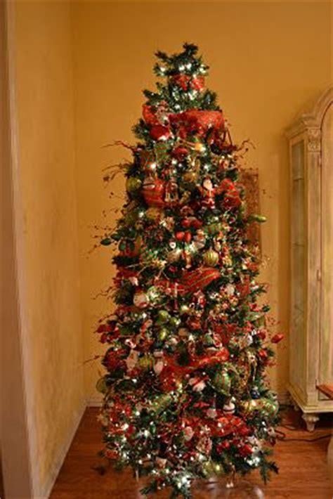 christmas mesh decorating images  pinterest