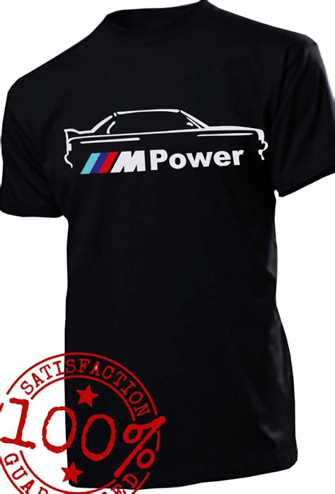 bmw e30 m power t shirt m5 m3 m6 e90 e60 e46 e36 e34 e38 x5 x6 t shirt s 2 view more