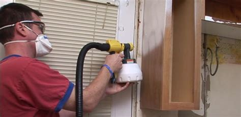 Hvlp Sprayer For Cabinets by Diy Kitchen Cabinet Painting Tips Today S Homeowner