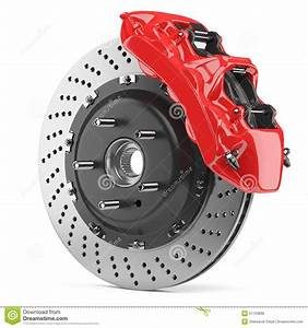 Meilleur Disque De Frein Voiture : automobile brake disk and red caliper stock illustration image 51723899 ~ Maxctalentgroup.com Avis de Voitures