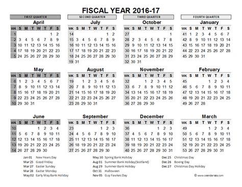 fiscal year calendar uk printable templates