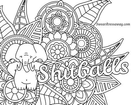 coloring pages curse words  getcoloringscom  printable colorings pages  print  color