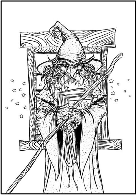 pagan adult colouring pages  scrapbook color adult