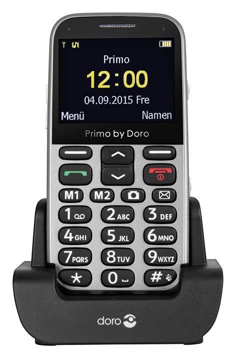 a mobile phone doro primo 366si gsm mobile phone silver at reichelt