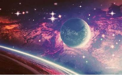 Space Planets Stars Anime Planetas Estrellas Otaku
