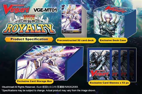 mega trial deck vol 01 rise to royalty cardfight vanguard
