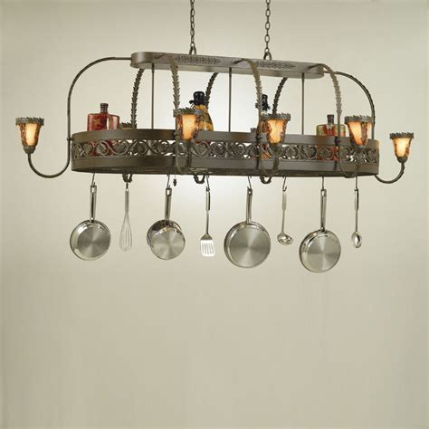 pot rack with light fixture hi lite manufacturing h 89y d 25 quot pot rack island