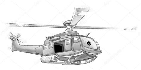 Kleurplaat Maken Illustrator by Kleurplaat Militaire Helikopter Stockfoto