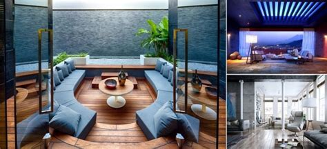 25 Modern Living Rooms with Cool and Clean Lines iCreatived