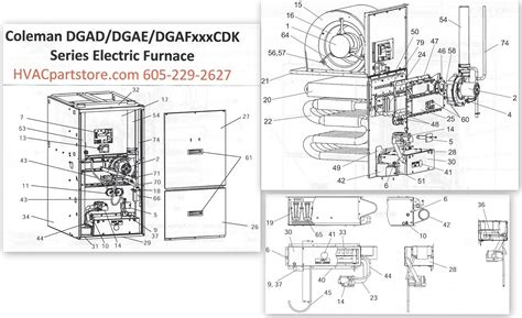 Atwood Mobile Furnace Wiring Diagram by Dgae080cdk Coleman Gas Furnace Parts Hvacpartstore