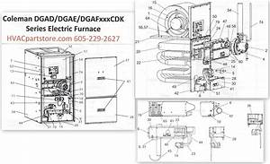 Dgad060cdk Coleman Gas Furnace Parts  U2013 Tagged  U0026quot Oval Single