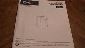 Lowe U0026 39 S Idylis 10 000 Btu A  C Instructions  Model  0146709