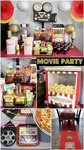 Movie, Night, Party, Ideas