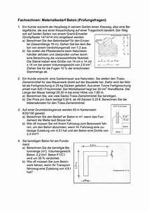 Mischungsverhältnis Berechnen : materialbedarf f r beton berechnen h user immobilien bau ~ Themetempest.com Abrechnung