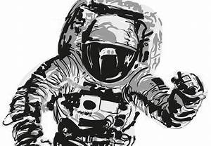 Zombie Astronaut Drawing (page 3) - Pics about space