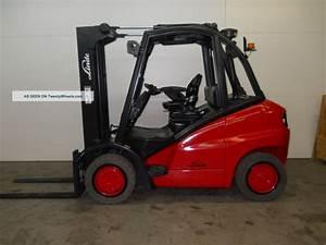 2007 Linde H40d 8000 Lb Capacity Forklift Lift Truck Solid