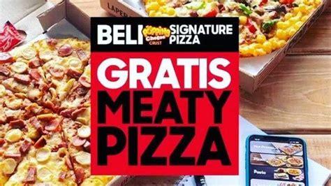 dapatkan promo beli  gratis  pizza hut delivery