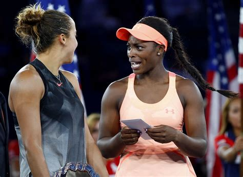 sloane stephens just won a lot of money at the u s open but reaction is priceless