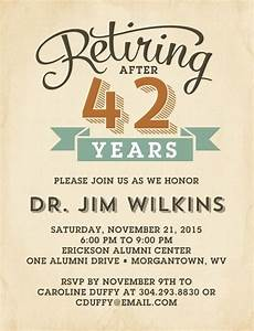 78 best ideas about retirement invitations on pinterest With retirement announcement flyer template