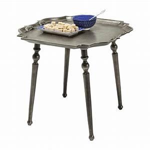 Table D Appoint : table d 39 appoint classique gris electra kare design ~ Teatrodelosmanantiales.com Idées de Décoration