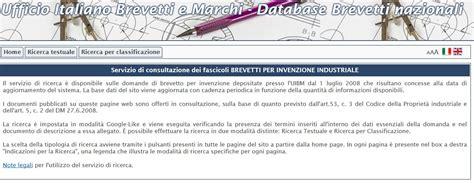 Ufficio Italiano Brevetti E Marchi Ricerca by Brevetti A Portata Di Mouse Il Latte