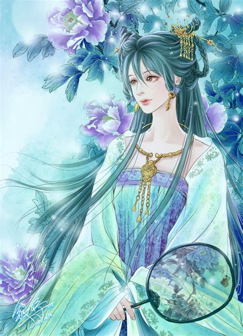 moon flowers by qianyu on deviantart