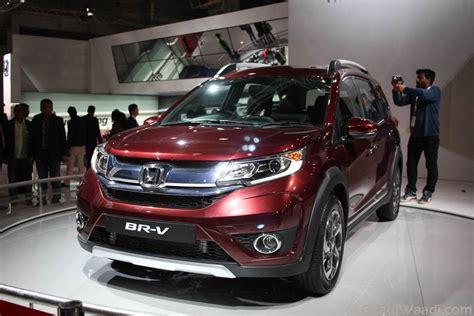 Honda Brv 2019 Modification by Honda Upcoming Cars In India 2016 17 Sagmart