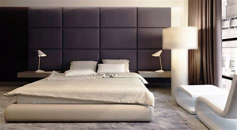 Headboard Wall Panels by Sophisticated Family Apartment With Rich Wood Accents
