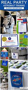 Astronaut Training Birthday Party Ideas | Space Party