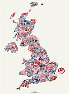 Totallymoney  The Big British Music Map By Kaizen
